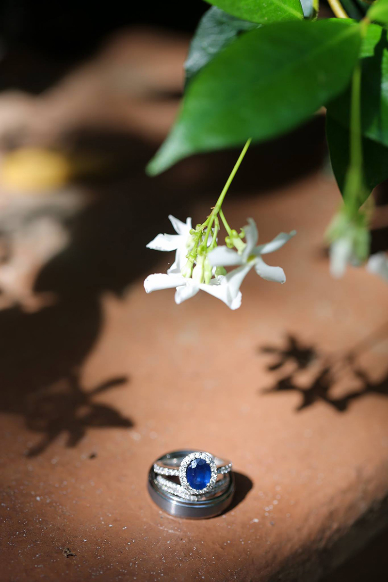 Wedding ring photo idea -Elope to Savannah