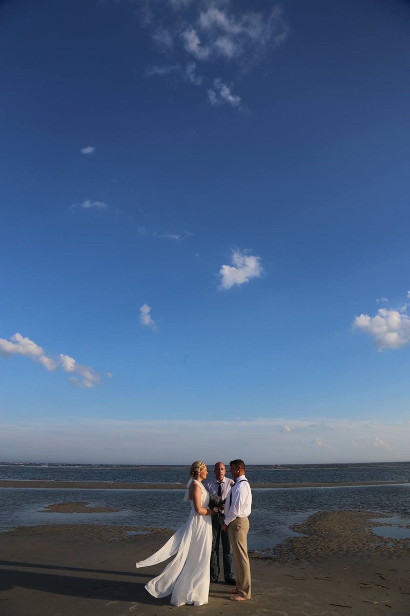 Tybee Island Elopement - wedding photo idea