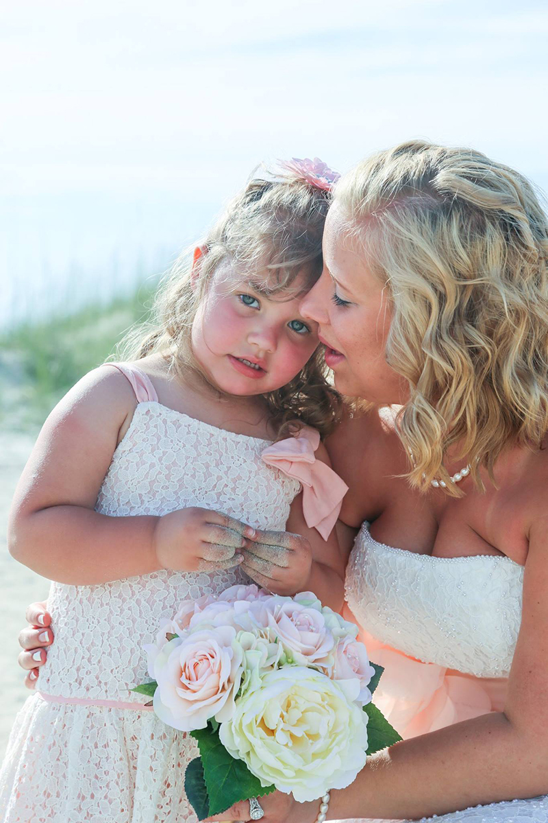 Mother daughter wedding photo - Elope to Savannah on Tybee Island